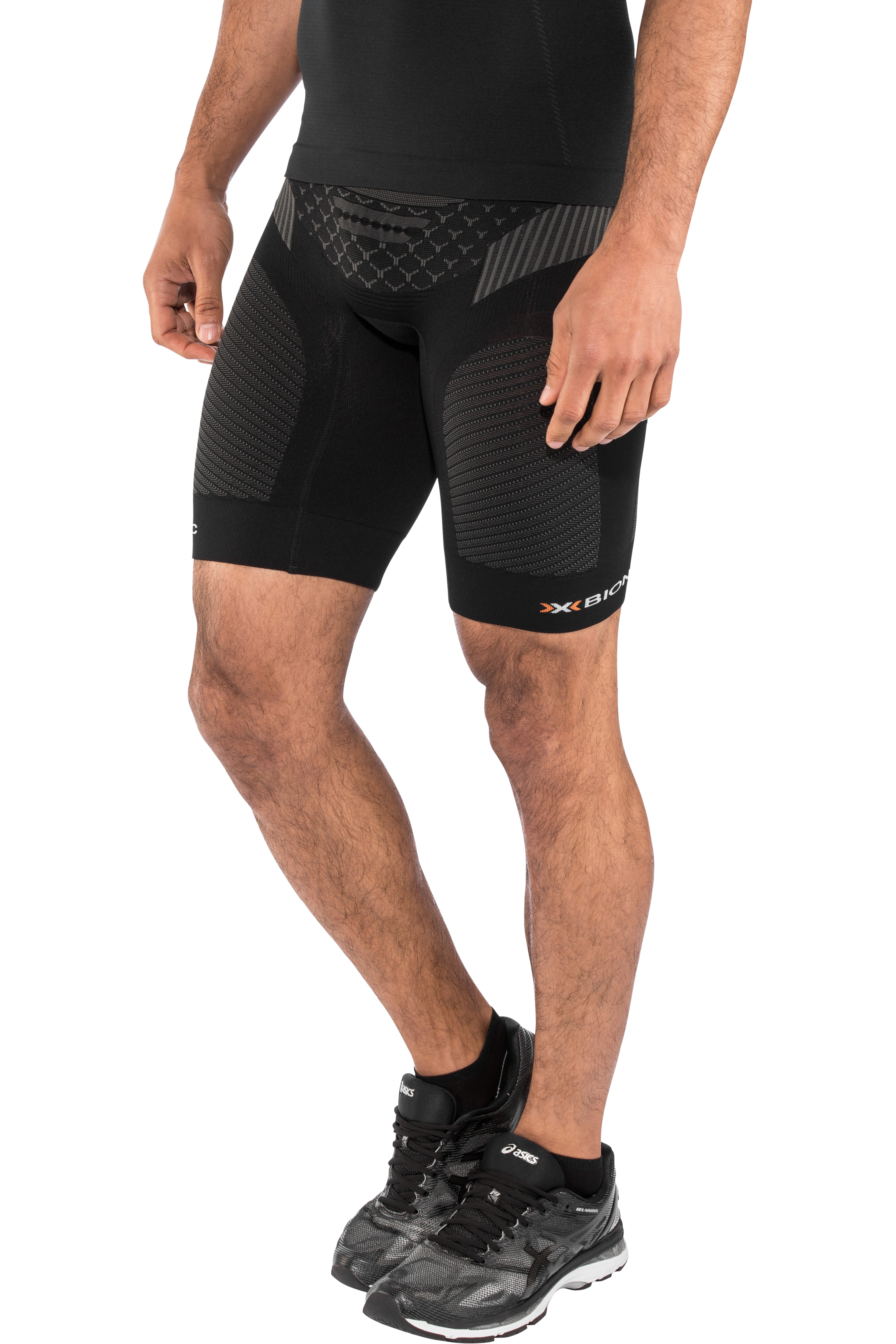 cbc53c916 X-Bionic Twyce OW Big Pocket Pantalones cortos running Hombre,  black/anthracite